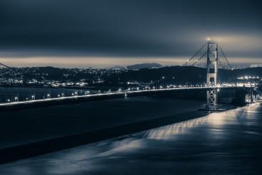 Golden Gate Night Theme