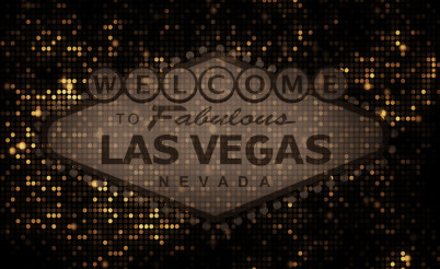 Golden Vegas Background