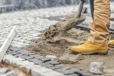Granite Brick Path Building