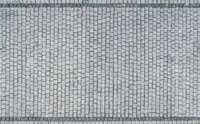 Granite Bricks Driveway Aerial View