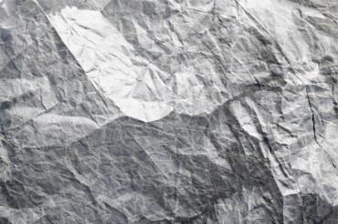 Gray Crumpled paper