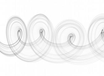 Gray Smoke Spiral