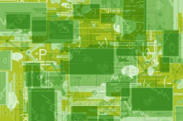 Green Internet Background