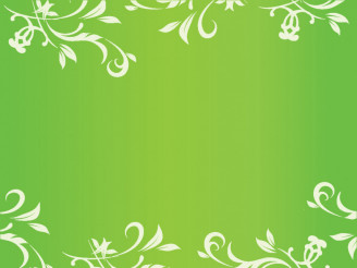 Green Ornamental Vector Background