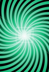 Green Whirl Background