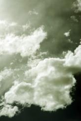 Greenish Cloudy Sky