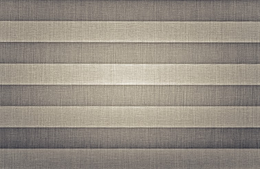 Grey Pleated Shades Textile Window Covers