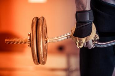 Gym Workout Closeup