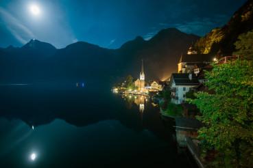 Hallstatt Austria Night Time