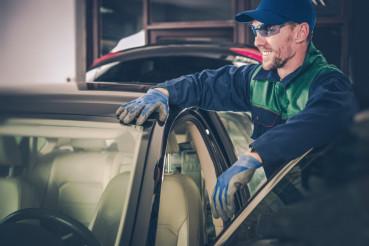 Happy Car Mechanic