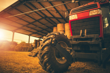 Hay Storage and the Tractor