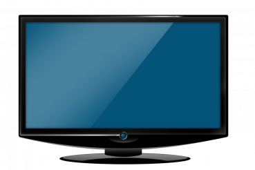 HD TV Illustration