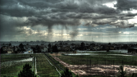 HDR Rain Shower