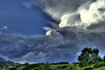 HDR Storm Cloud