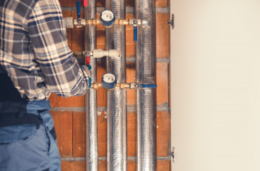 Heating System Final Adjustment Performed by Technician
