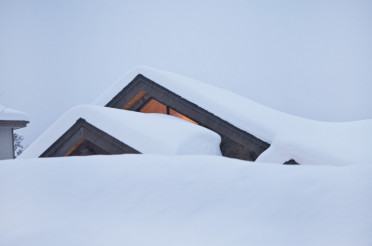 Heavy Snow on Roof