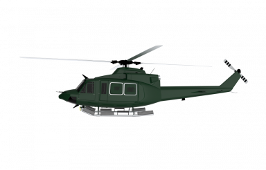 Helicopter PNG Side View