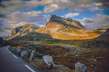 High Mountain Norwegian Road