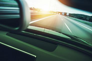 Highway Car Speeding
