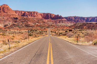 Highway to Capitol Reef
