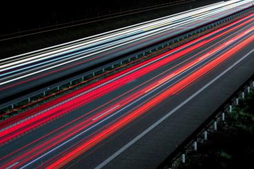 Highway Vehicle Lights