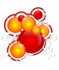 Holiday Ornaments PNG