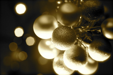 Holiday Ornaments Sephia