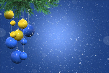 Holiday Snowy Background