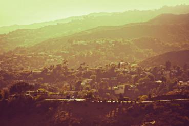 Hollywood Hills Panorama