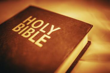 Holy Bible Closeup