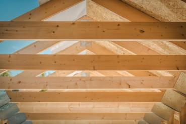 Home Roof Wood Beams