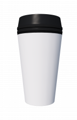 Hot Tea and Coffee Paper Cup 3D Mockup PNG