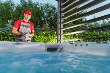 Hot Tub Jacuzzi Installer Testing SPA