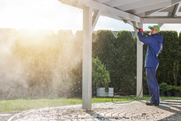 House Patio Power Cleaning