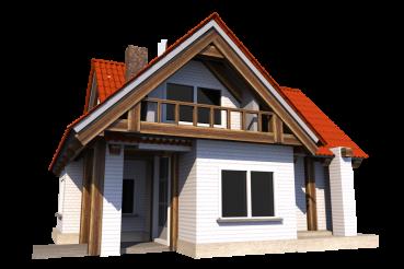 House PNG Illustration