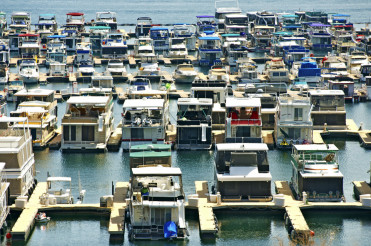 Houseboats in Marina