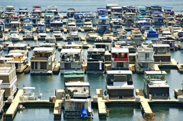 Houseboats in Marina