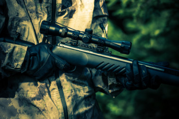 Hunter Rifle Closeup