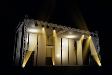 Illuminated Music Stage