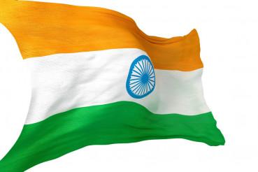 India National Flag Isolated