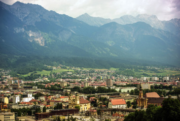 Innsbruck City Panorama
