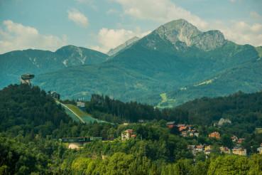 Innsbruck Ski Jump in Austria