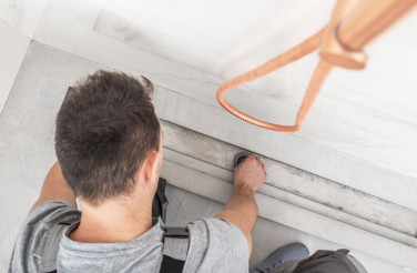 Installing Linear Shower Drain
