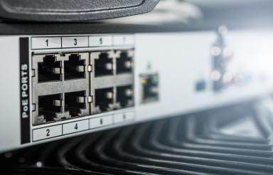 IP Video Surveillance Storage Device with PoE Ports