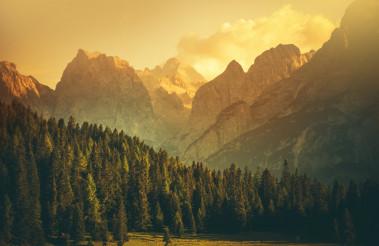 Italian Dolomites Landscape