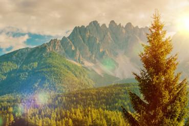 Italian Dolomites Vista
