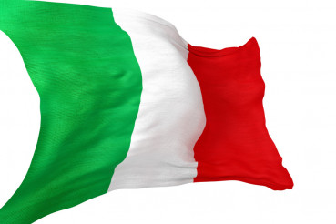 Italian National Flag 3D