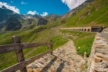 Italian St Bernard Pass Road