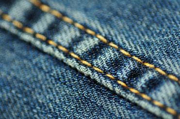 Jeans Material Closeup