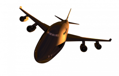 Jet Commercial Airliner PNG